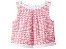 Janie and Jack Sleeveless Houndstooth Top (Toddler/Little Kids/Big Kids)