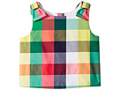 Janie and Jack Sleeveless Plaid Top (Toddler/Little Kids/Big Kids)