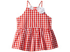 Janie and Jack Sleeveless Gingham Top (Toddler/Little Kids/Big Kids)