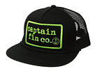 Captain Fin Type Patch 5 Panel Hat