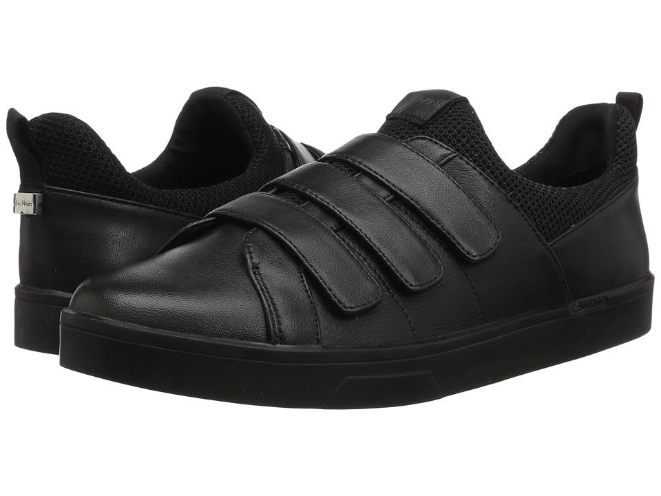 Calvin Klein - Irah (Black) Womens Hook and Loop Shoes