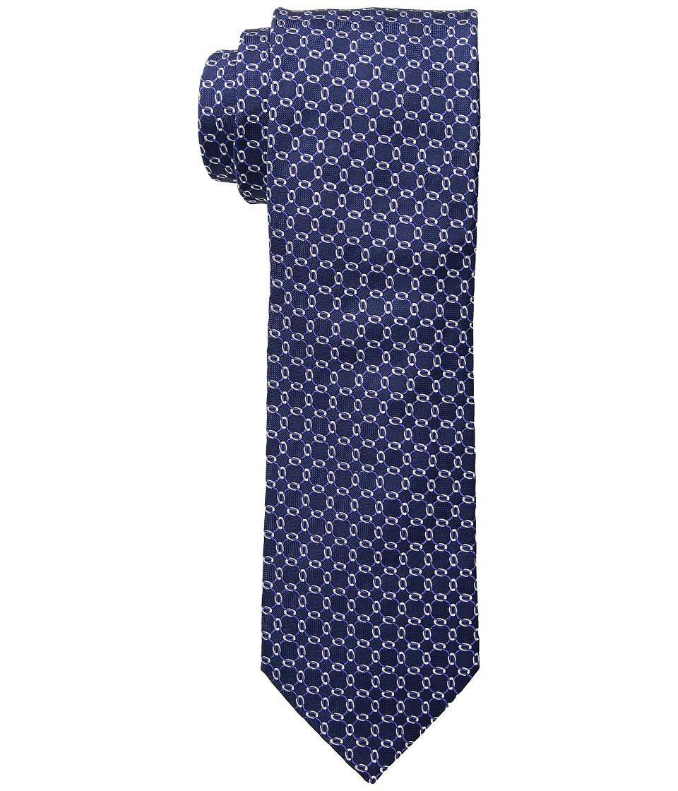 Eton - Chain Link Tie (Navy/Blue) Ties