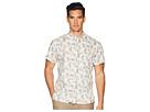 Billy Reid Short Sleeve Tuscumbia Crab Print Shirt