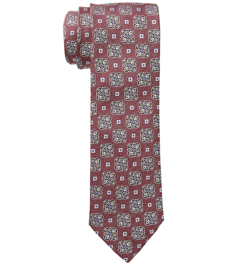 Eton - Medallion Tie (Red) Ties