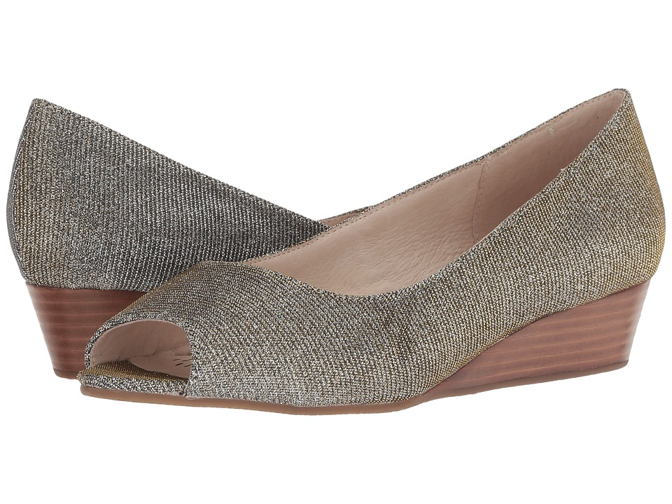 Sudini Willa (Gold/Silver Shimmer) Wedges
