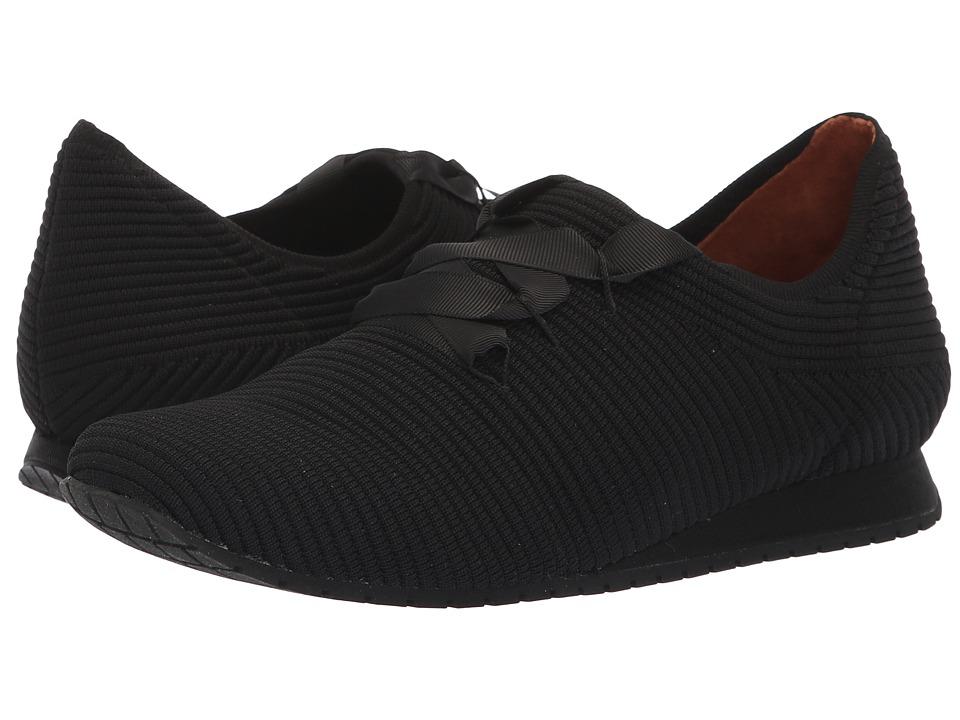 L'Amour Des Pieds Taimah (Black/Black Stretch) Women's Shoes