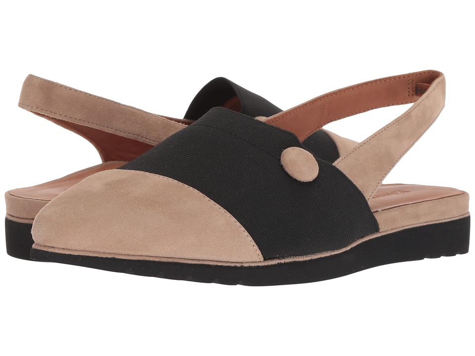 L'Amour Des Pieds Marissah (Taupe Suede) Women's Shoes