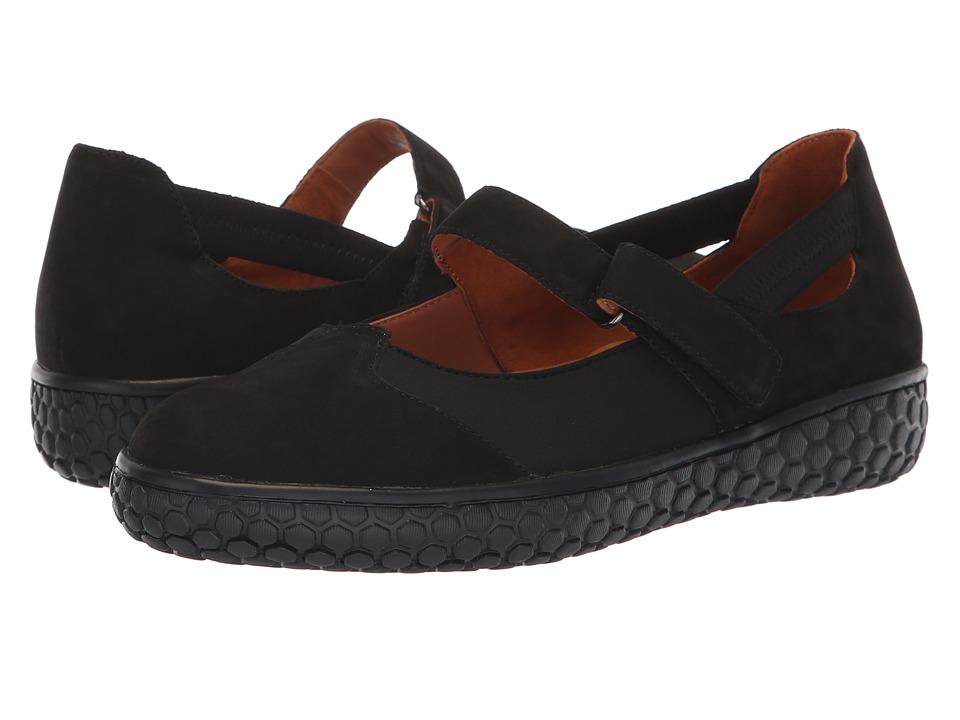 L'Amour Des Pieds Zahavah (Black Nubuck) Women's Shoes