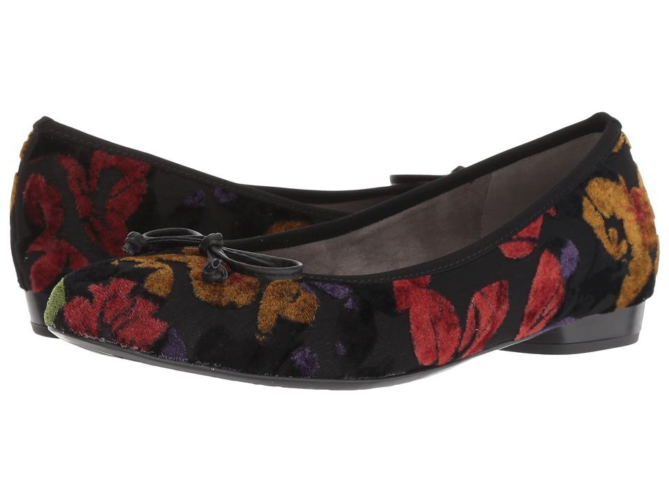 ara Patria (Multi Fiore/Black Lago) Women's Shoes