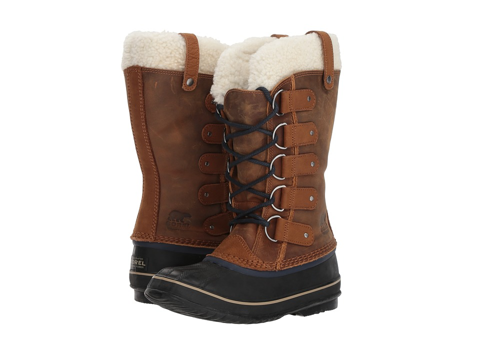 SOREL - Joan of Arctictm (Elk/Collegiate Navy) Womens Waterproof Boots