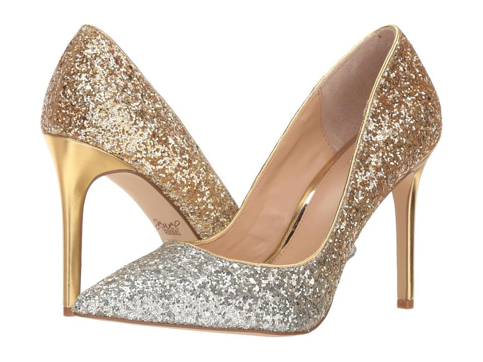 Jewel Badgley Mischka Malta (Silver/Gold) Women's Shoes