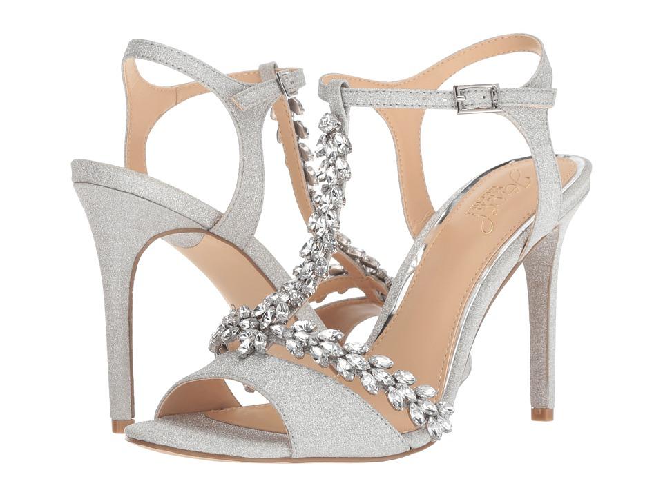 Jewel Badgley Mischka Maxi (Silver) Women's Shoes
