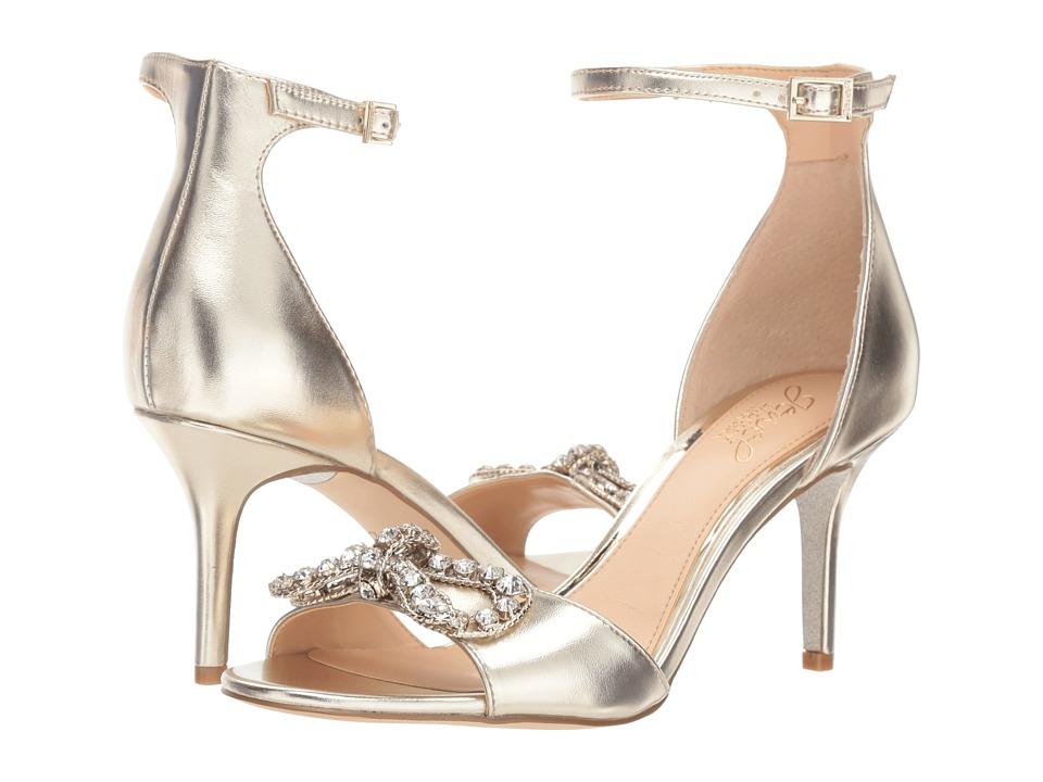 Jewel Badgley Mischka Miguela (Light Gold) Women's Shoes