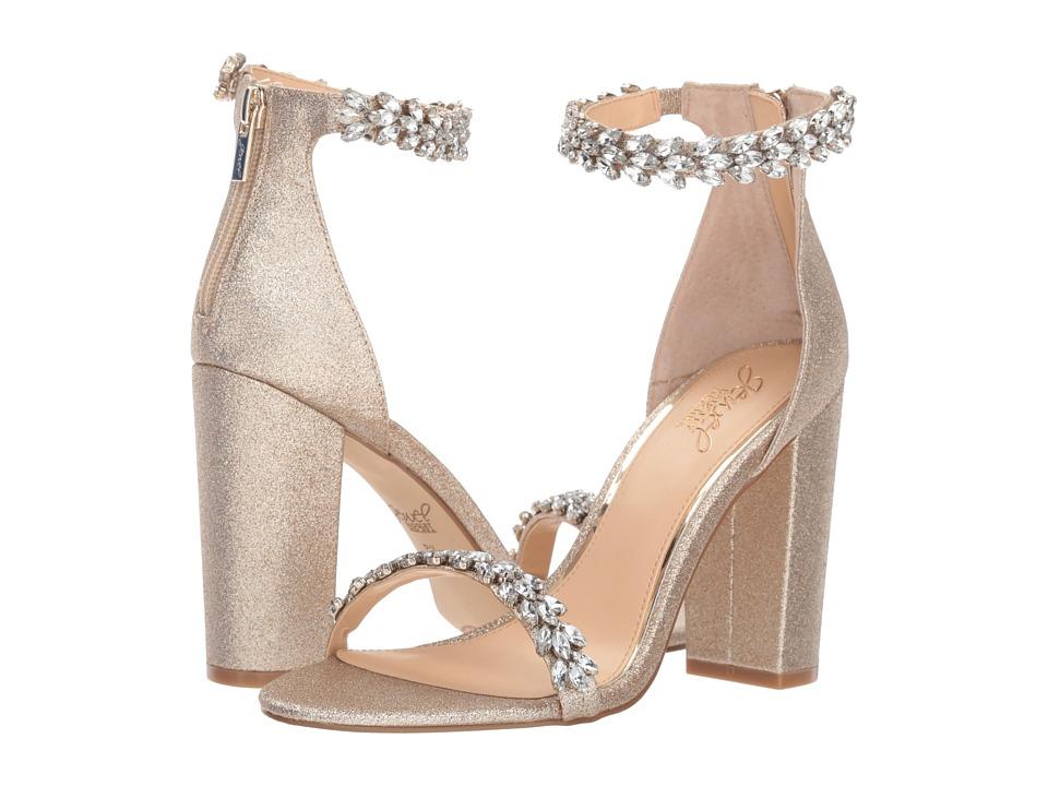Jewel Badgley Mischka Mayra (Light Gold) Women's Shoes