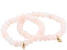 Dee Berkley Mommy and Me Rose Quartz Beaded Bracelet Set