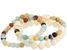 Dee Berkley Amazonite and Pearl Beaded Bracelet Set