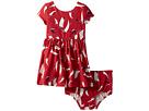 Ralph Lauren Baby Ralph Lauren Baby Sailboat Twist-Back Dress (Infant)