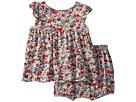Ralph Lauren Baby Floral Top Bloomer Set (Infant)