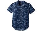 Polo Ralph Lauren Kids Camo Cotton Chambray Shirt (Little Kids/Big Kids)