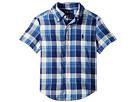 Polo Ralph Lauren Kids Cotton Madras Sport Shirt (Toddler)