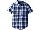 Polo Ralph Lauren Kids Cotton Madras Sport Shirt (Little Kids/Big Kids)