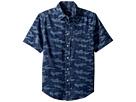Polo Ralph Lauren Kids Camo Cotton Chambray Shirt (Big Kids)
