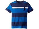 Polo Ralph Lauren Kids Striped Cotton Jersey T-Shirt (Little Kids/Big Kids)