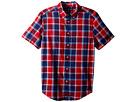 Polo Ralph Lauren Kids Cotton Madras Sport Shirt (Big Kids)