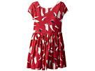 Polo Ralph Lauren Kids Sailboat Twist-Back Dress (Toddler)