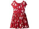 Polo Ralph Lauren Kids Sailboat Twist-Back Dress (Little Kids)