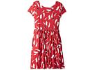 Polo Ralph Lauren Kids Sailboat Twist-Back Dress (Little Kids/Big Kids)
