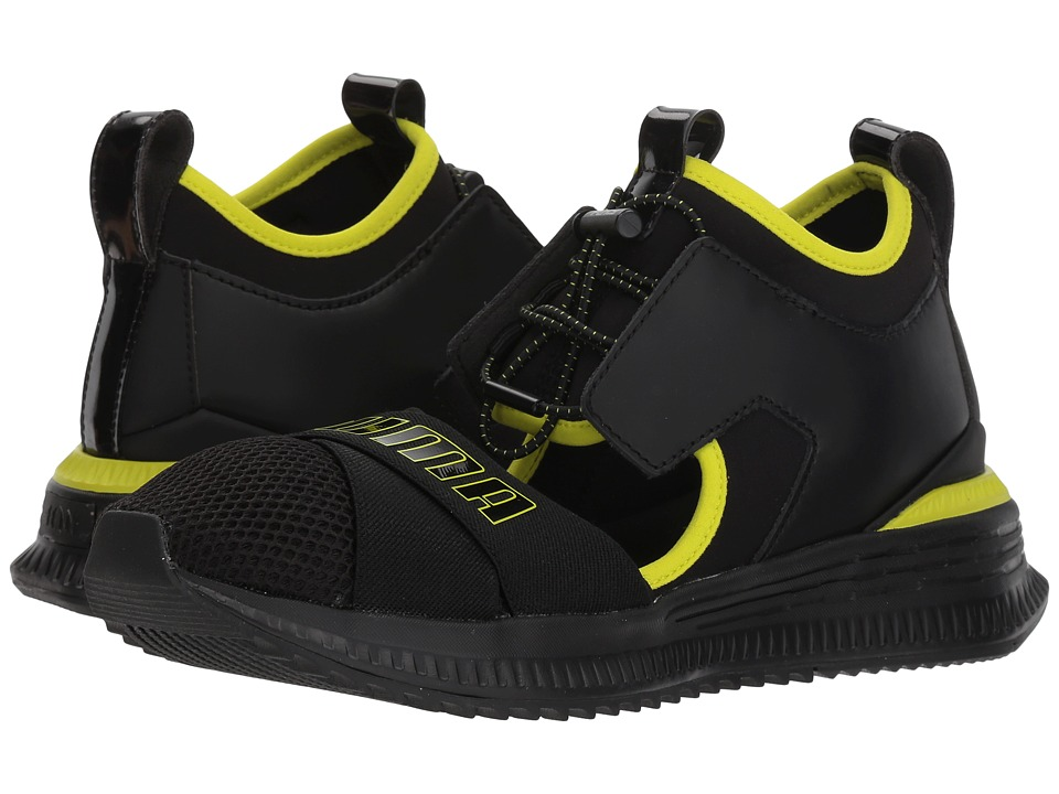 PUMA - Fenty Avid (Puma Black/Limepunch/Puma Black) Womens Shoes