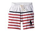 Polo Ralph Lauren Kids Striped Cotton Jersey Shorts (Toddler)