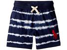 Polo Ralph Lauren Kids Tie-Dye Cotton Jersey Shorts (Toddler)