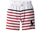 Polo Ralph Lauren Kids Striped Cotton Jersey Shorts (Little Kids)