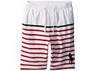 Polo Ralph Lauren Kids Striped Cotton Jersey Shorts (Big Kids)