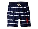 Polo Ralph Lauren Kids Tie-Dye Cotton Jersey Shorts (Little Kids)