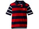 Polo Ralph Lauren Kids Striped Cotton Mesh Polo Shirt (Toddler)