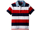 Polo Ralph Lauren Kids Striped Jersey Rugby Shirt (Toddler)