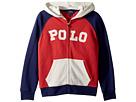 Polo Ralph Lauren Kids Cotton French Terry Hoodie (Little Kids/Big Kids)