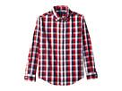 Polo Ralph Lauren Kids Cotton Madras Shirt (Little Kids/Big Kids)