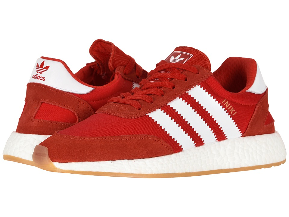 adidas Iniki Runner (RED/FTWWHT/GUM3) Women's Shoes