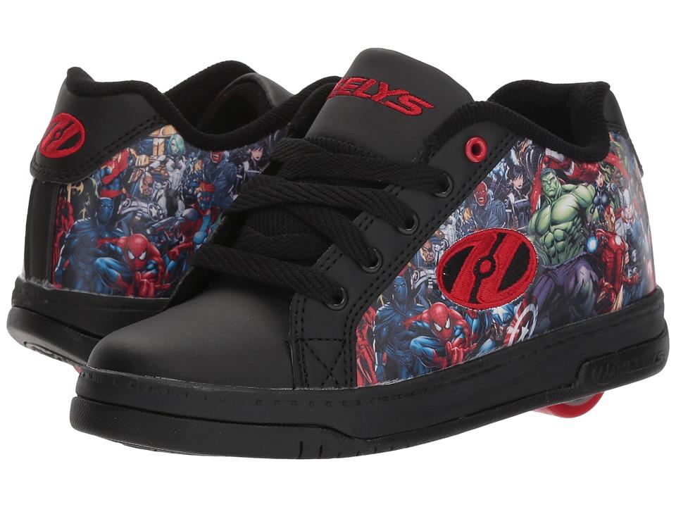 Heelys - Split Marvel Universe (Little Kid/Big Kid/Adult) (Black/Red) Kids Shoes