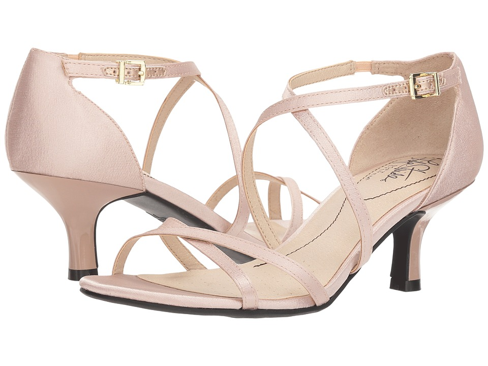 LifeStride Flaunt (Rose Gold) Sandals