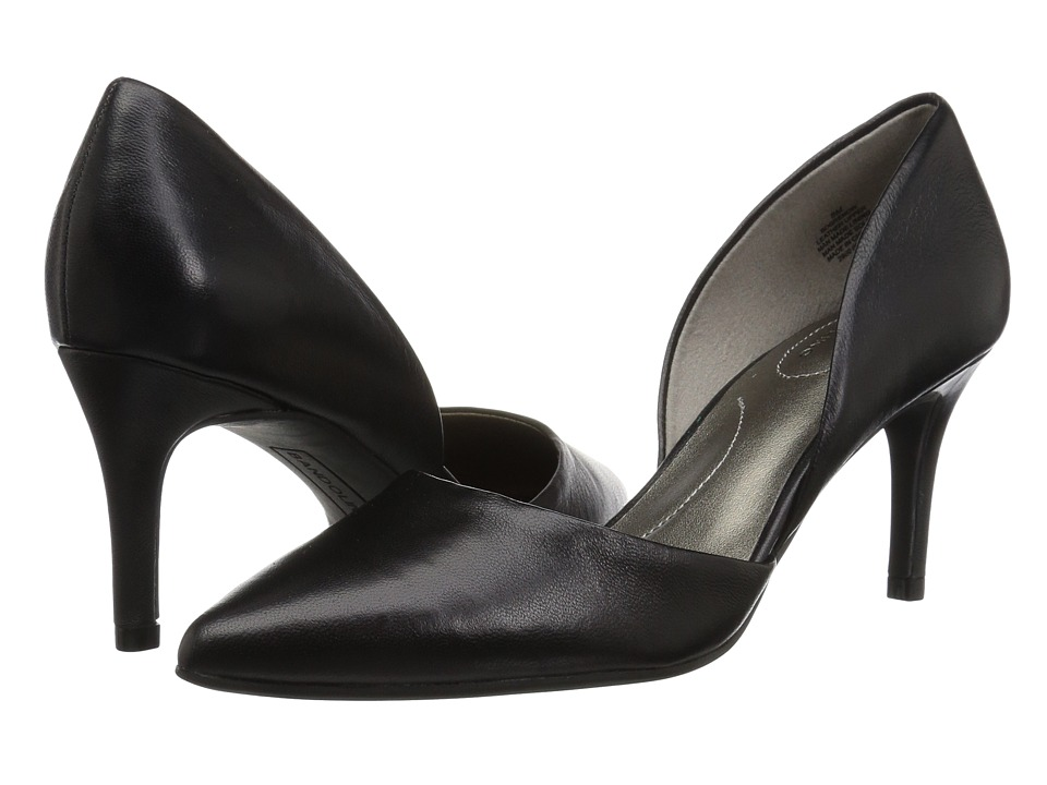 Bandolino Grenow Heel (Black Leather) High Heels