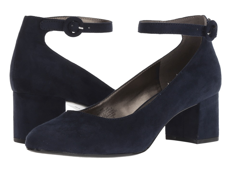 Bandolino Odear (Navy Fabric) Women's Shoes