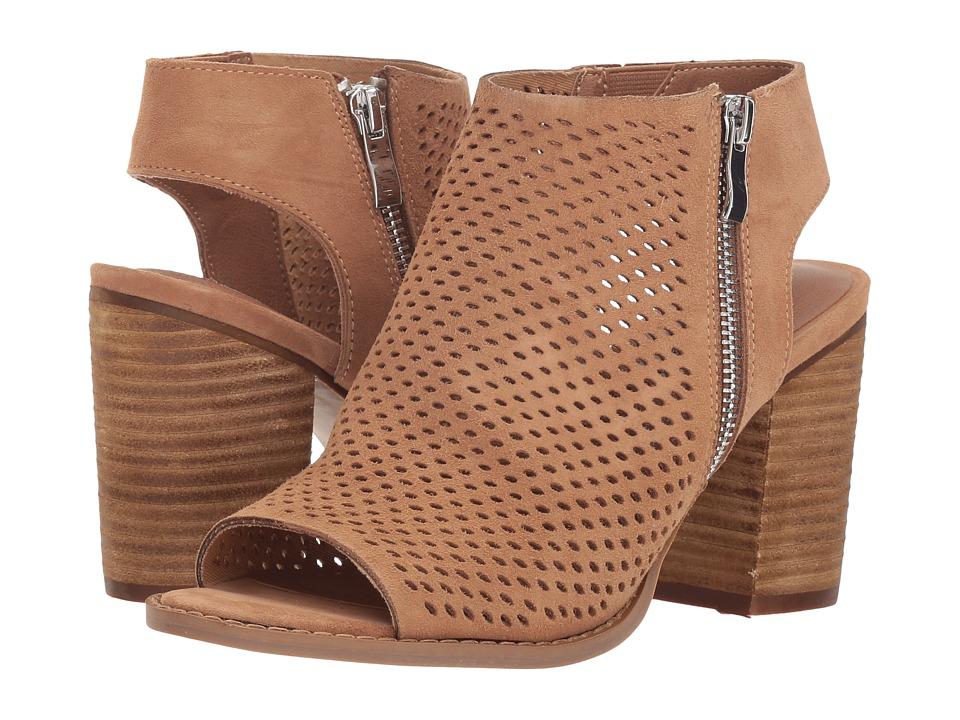 Steve Madden Abigail Heel (Camel Suede) Women's Shoes