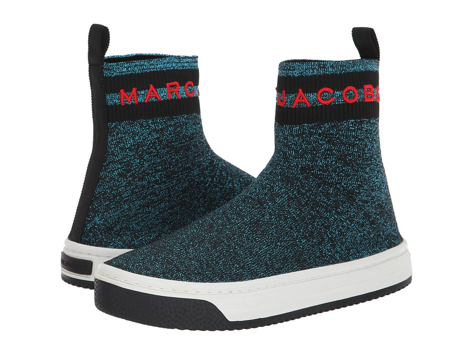 Marc Jacobs Dart Sock Sneaker (Blue Multi) Women's Shoes
