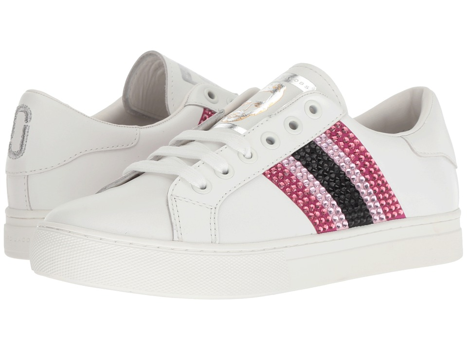 Marc Jacobs Empire Strass Low Top Sneaker (Pink Multi 1) Women's Shoes