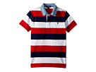 Polo Ralph Lauren Kids Striped Jersey Rugby Shirt (Little Kids/Big Kids)